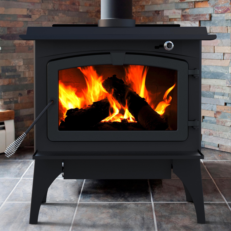 Amazon Com Pleasant Hearth 1 800 Square Feet Wood Burning