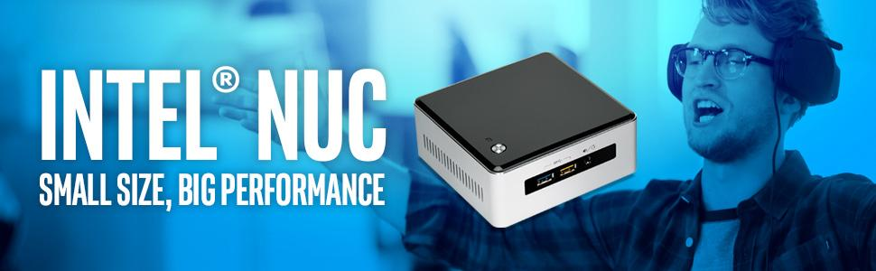 Intel NUC NUC5i5RYH with Intel Core i5 Processor and 2.5-Inch Drive Support