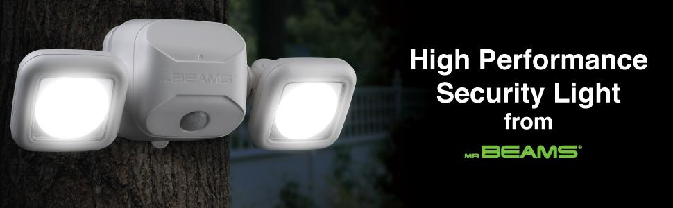 Mr beams mb3000 high performance wireless battery powered motion battery motion light outdoor home security motion light sensor light battery operated aloadofball Image collections