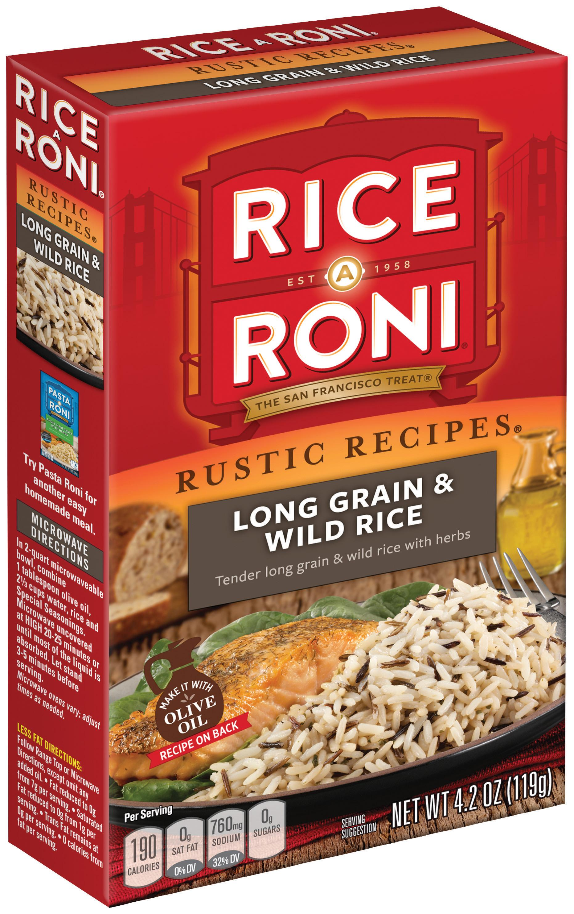 Amazon.com : Rice a Roni, Rustic Recipies, Long Grain and