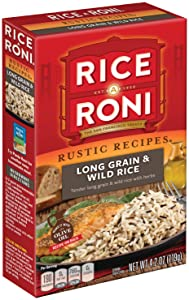 Rice a roni rustic recipes long grain and wild rice mix