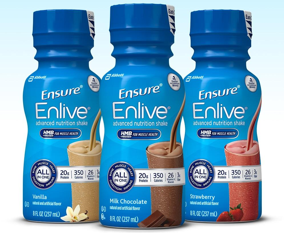 Amazon.com: Ensure Enlive Nutrition Shake, Chocolate, 16 count, 8 fl