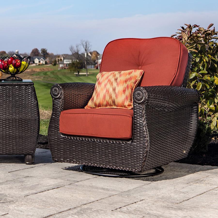 Breckenridge 4 Piece Patio Furniture Set Two Swivel: Amazon.com: La-Z-Boy Outdoor Breckenridge 3 Piece Resin