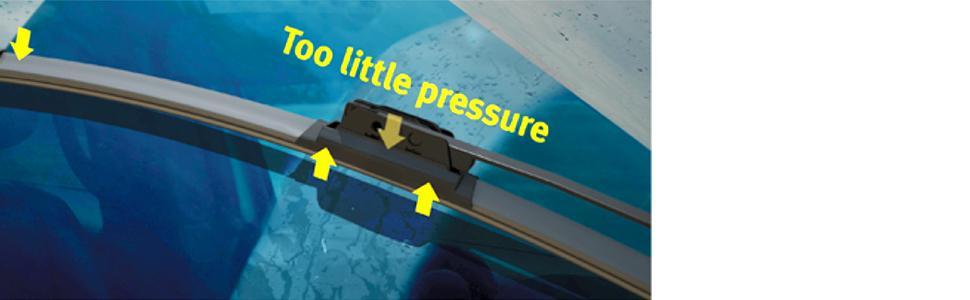 beam windshield wiper blade problems