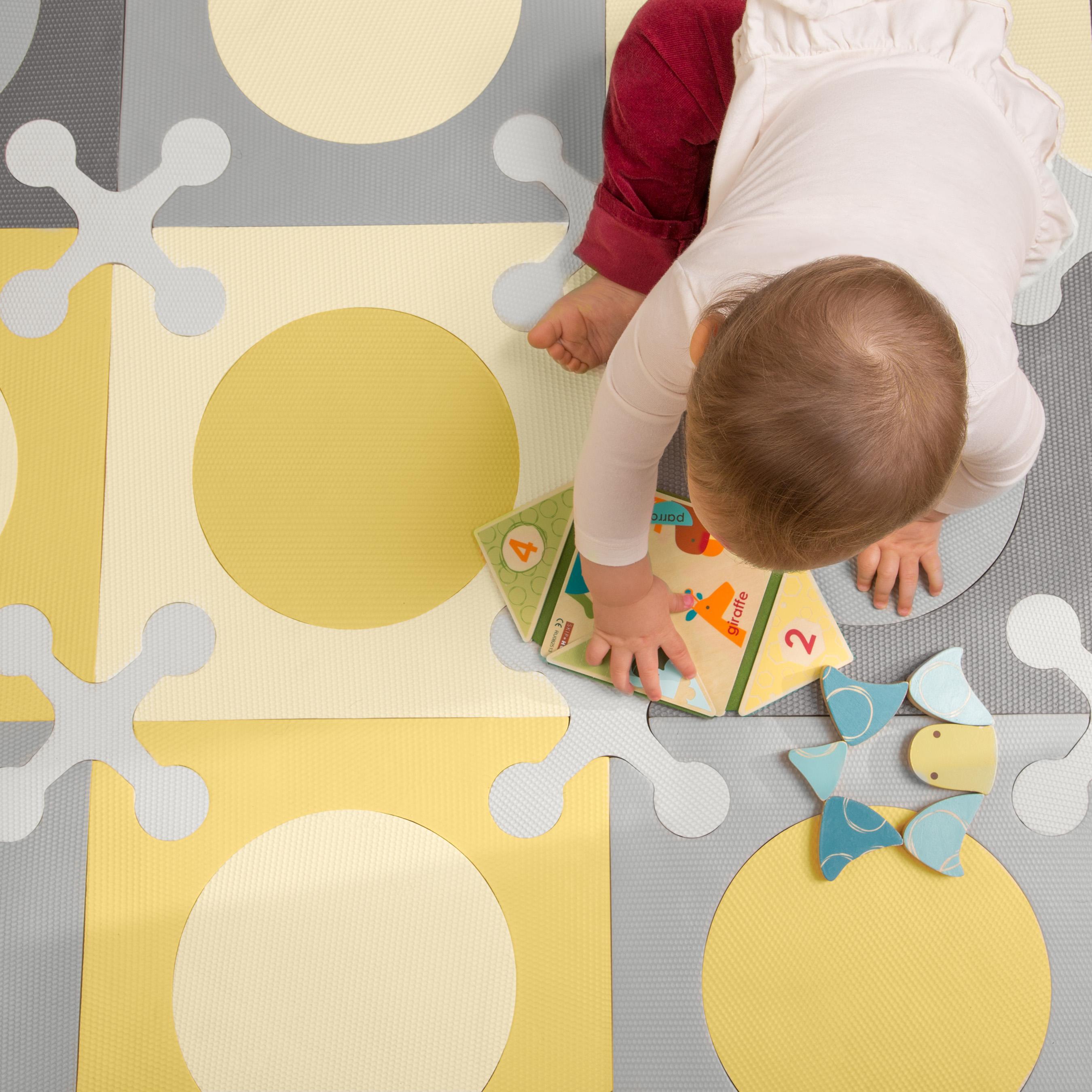 Amazon Com Skip Hop Interlocking Foam Floor Tiles