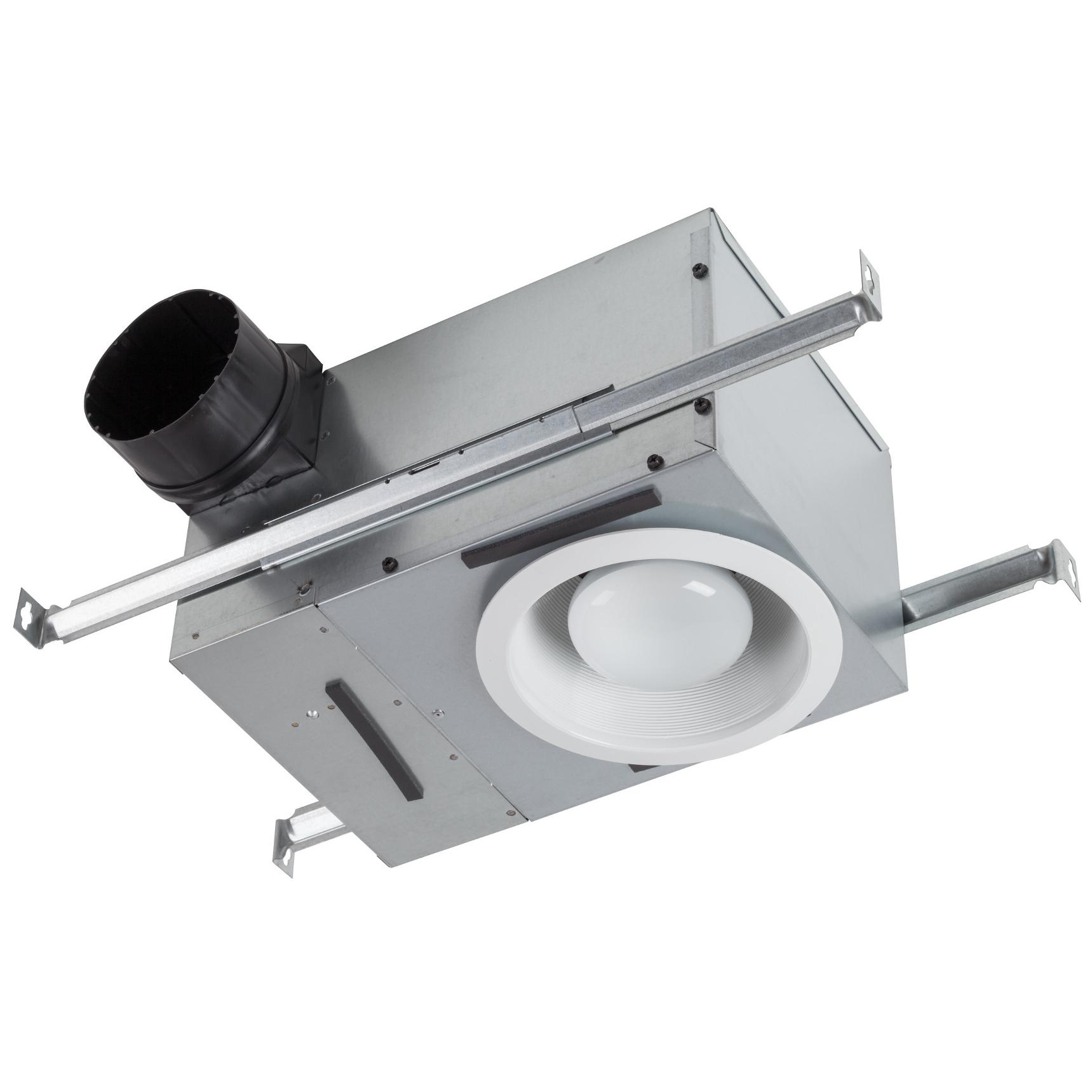 BROAN 744 Recessed Fan/Light showing housing unit and mounting brackets.  sc 1 st  Amazon.com & Broan 744 Recessed Bulb Fan and Light 70 CFM 75-Watt - Built In ... azcodes.com