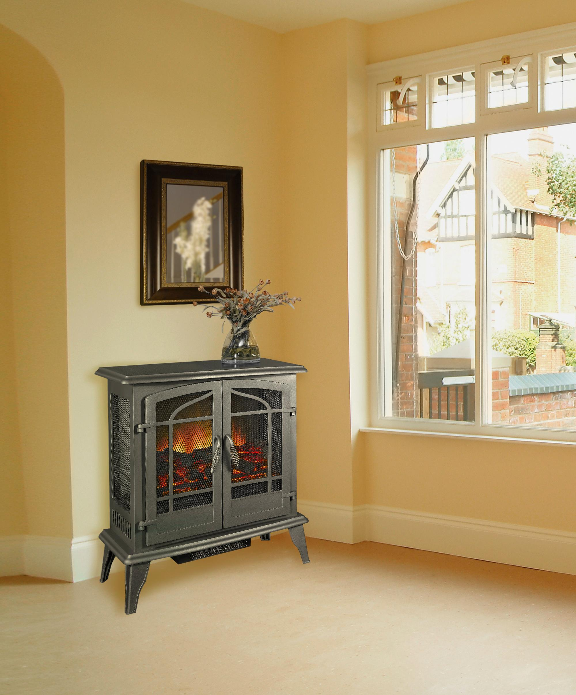 amazon com pleasant hearth legacy panoramic electric stove