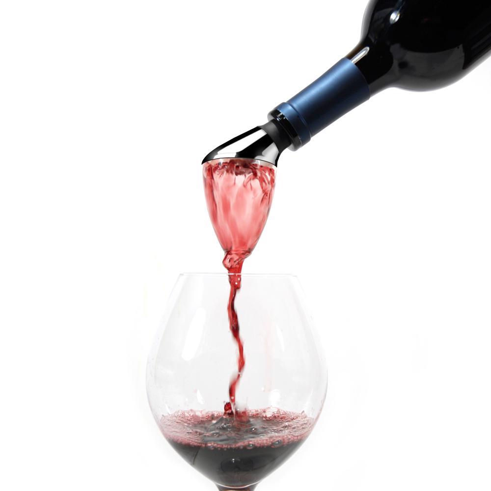 rabbit wine bottle aerator pourer