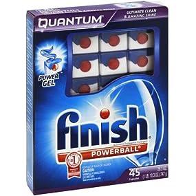 Finish Quantum automatic dishwasher tablets
