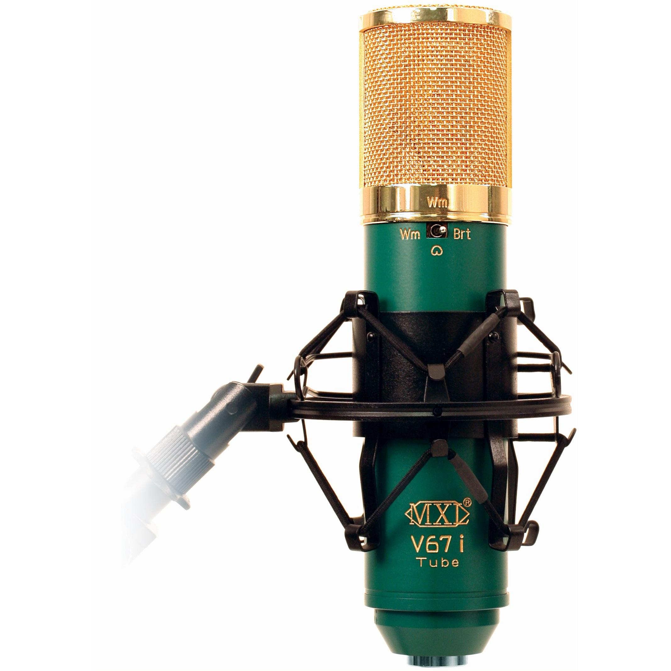 Amazon.com: MXL V67i Tube Dual Diaphragm Tube Condenser Microphone