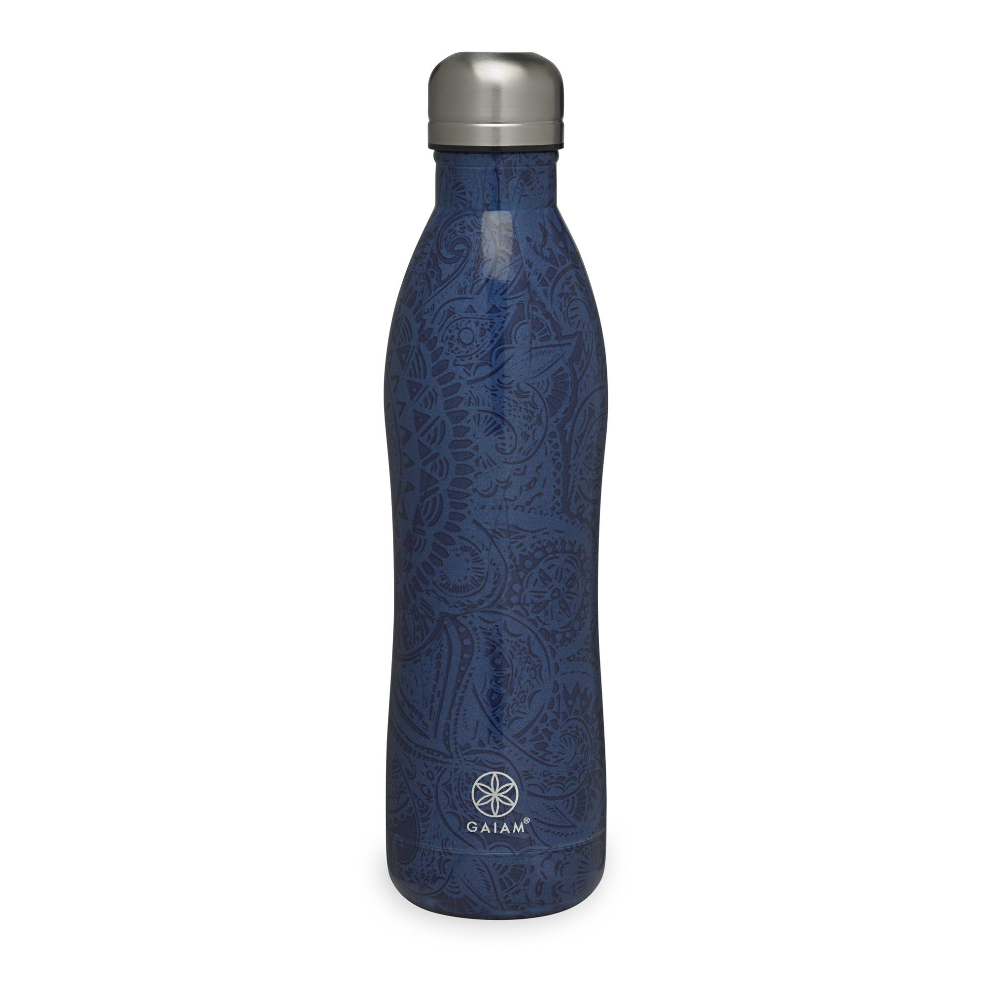 Amazon Com Gaiam Stainless Steel Water Bottle Flower