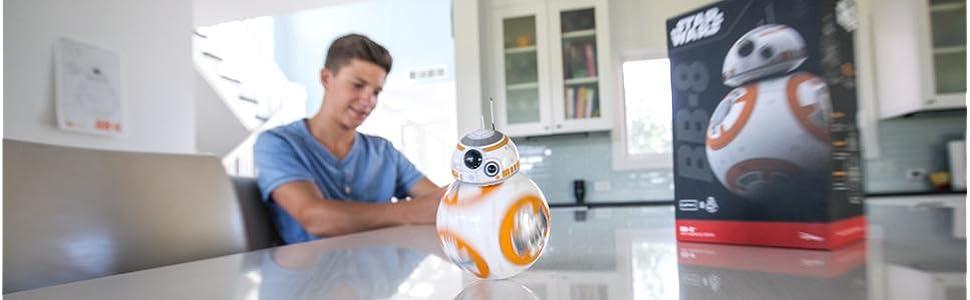 BB8 Star Wars robot de juguete - App habilitado