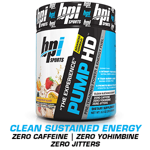 pump, strength, energy, workouts, bpi sports