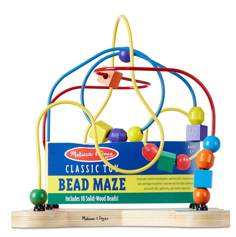 Classic Educational Toys : Amazon melissa doug classic bead maze wooden
