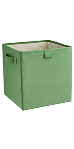 premium storage bins, two handle bins, closetmaid, colorful bins, storage