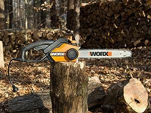 WORX 18 inch electric chainsaw