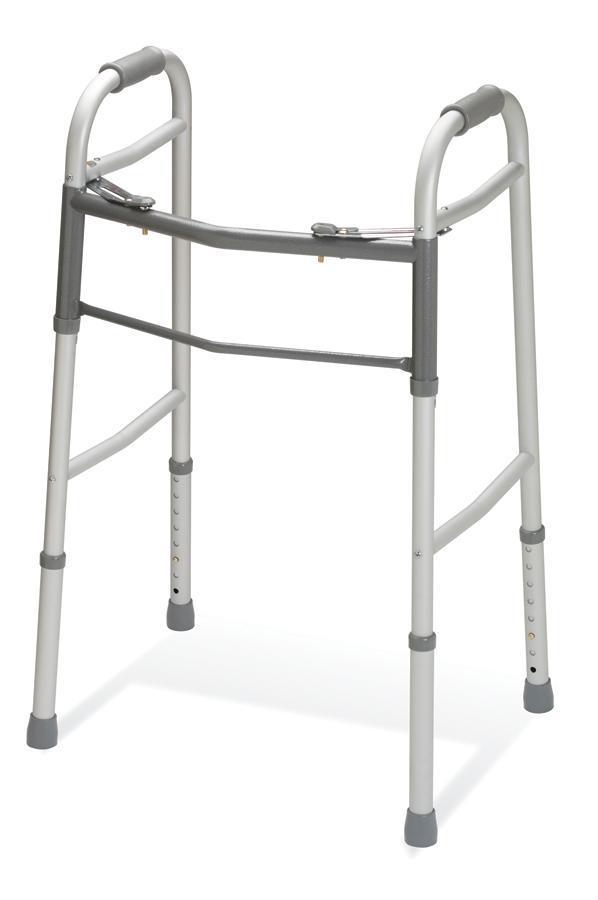 Amazon.com: Medline two-button andador sin ruedas: Health ...