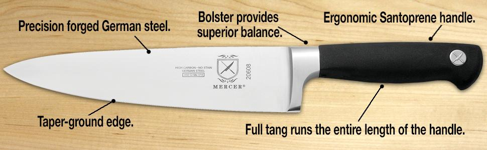 mercer genesis knife