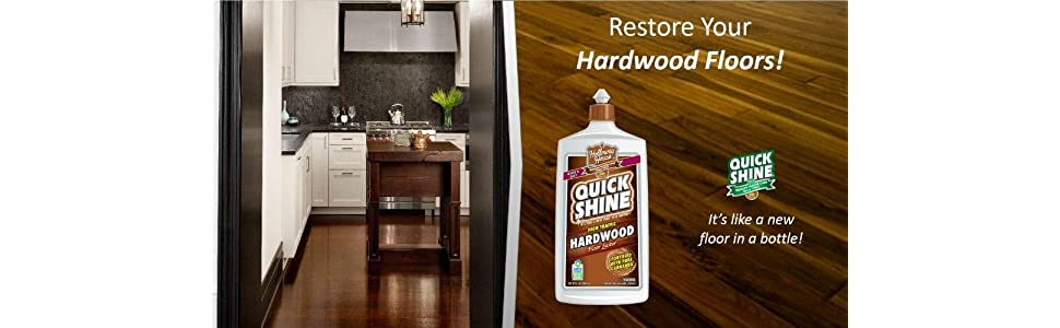 From the manufacturer - Amazon.com: Quick Shine High Traffic Hardwood Floor Luster And