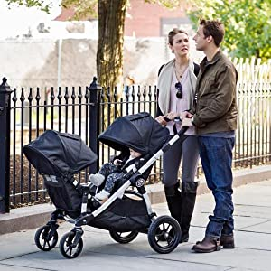 Amazon Com Baby Jogger City Select Double Stroller With