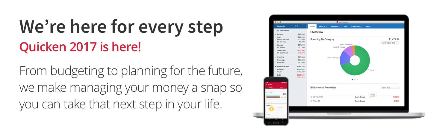 Amazon com: Quicken For Mac 2017 Personal Finance & Budgeting