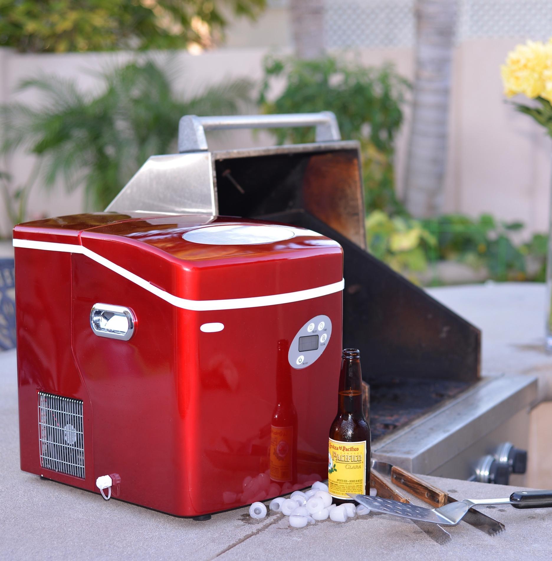 Amazon Com Newair Portable Ice Maker 50 Lb Daily