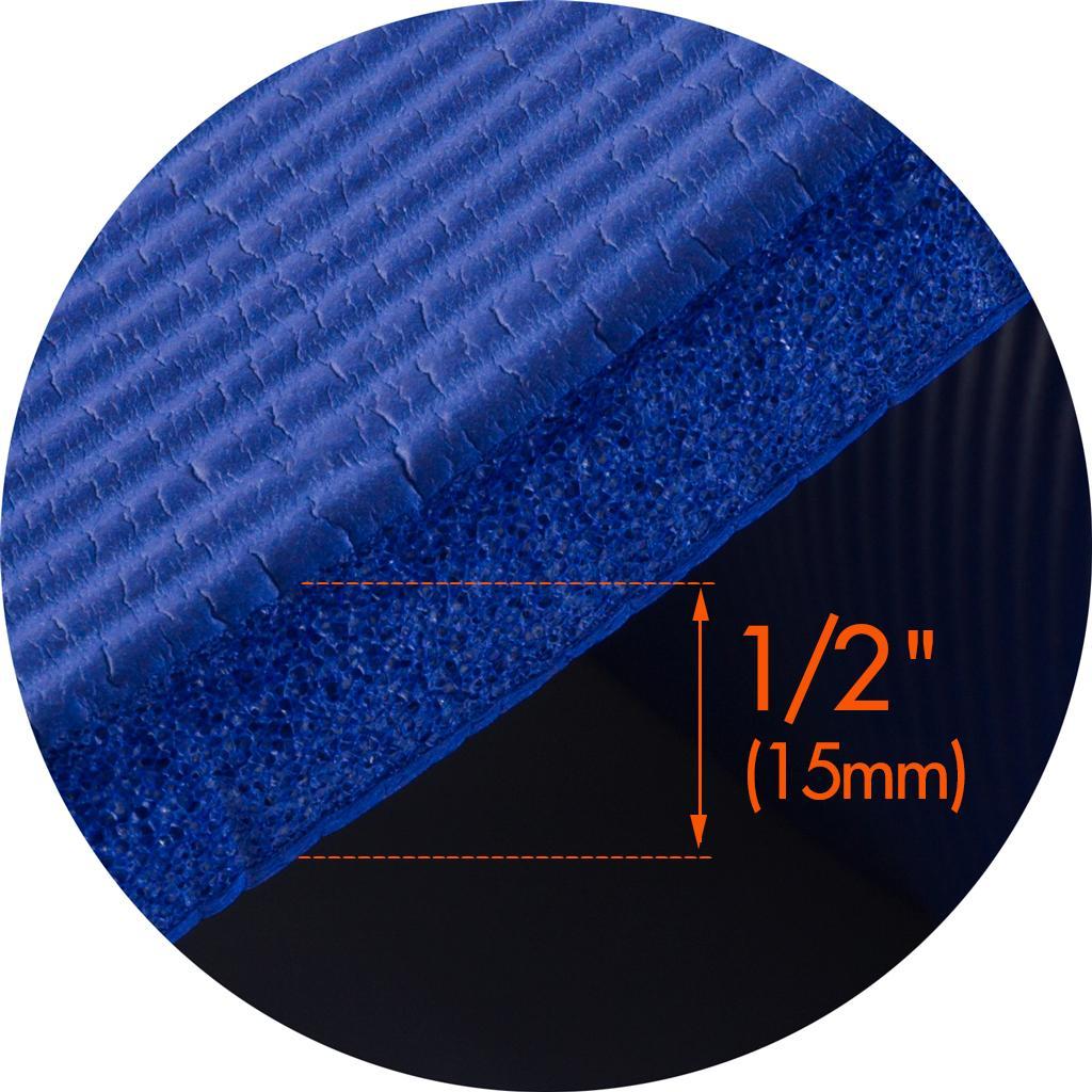 amazon com prosource premium 1 2 inch extra thick 71 inch long