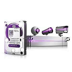 WD Purple NV 4TB Surveillance Hard Disk Drive - Intellipower SATA 6 Gb/s  64MB Cache 3 5 Inch - WD4NPURX