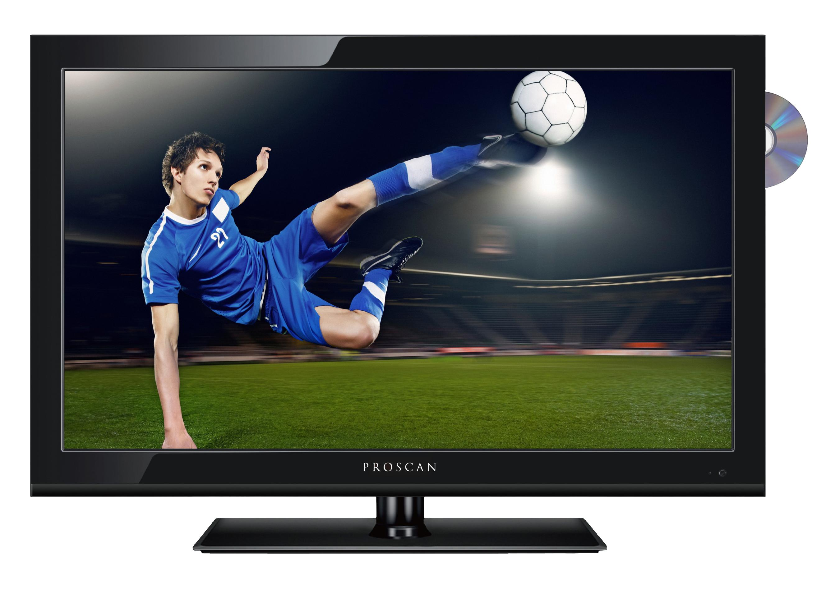 proscan pledv1945a b 19 inch 720p 60hz led tv dvd combo electronics. Black Bedroom Furniture Sets. Home Design Ideas