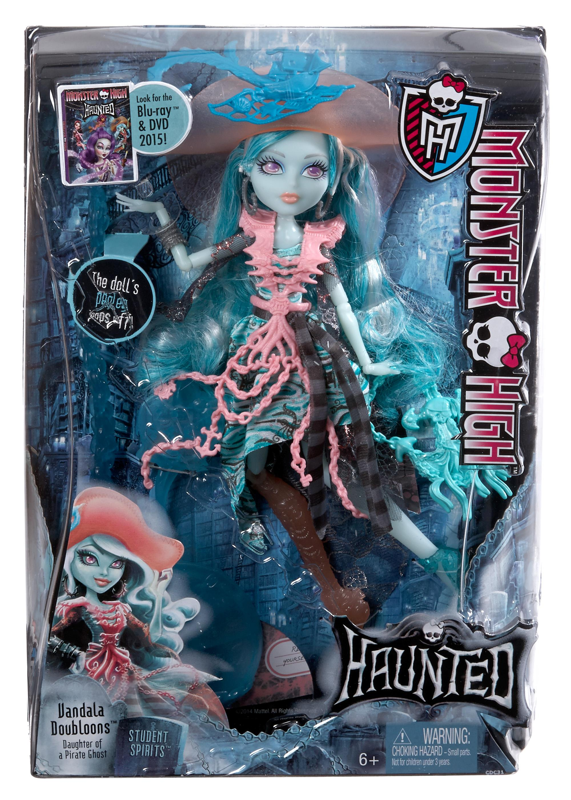 Amazon Com Monster High Haunted Student Spirits Vandala