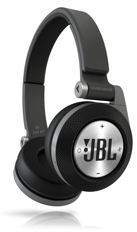 jbl synchros e40bt bluetooth on ear headphones with jbl signature sound purebass. Black Bedroom Furniture Sets. Home Design Ideas