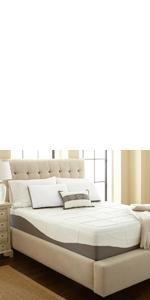 memory foam mattress bed