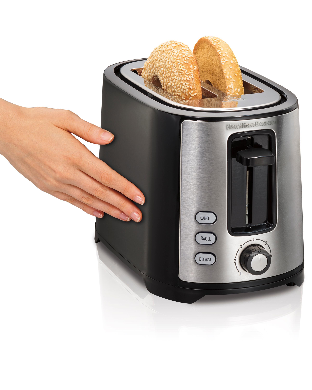 2 Slice Toaster ~ Amazon hamilton beach extra wide slice