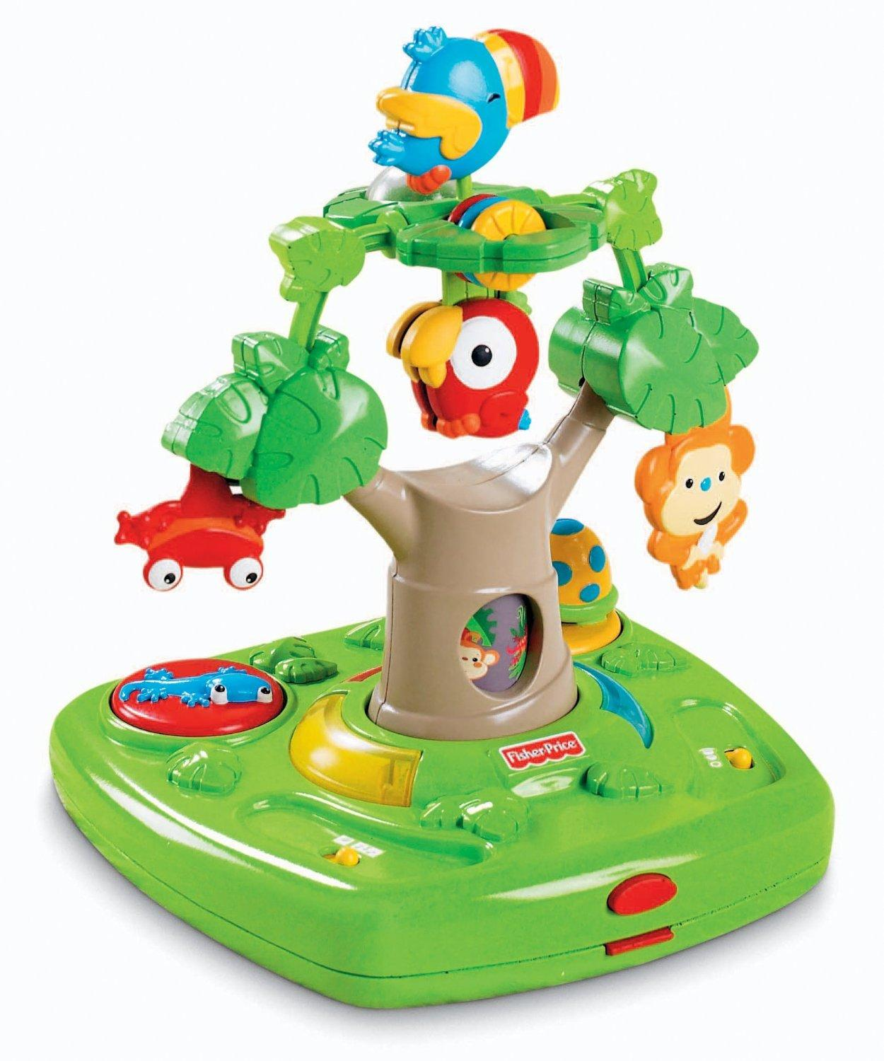 High Chair Toy Holder : Amazon fisher price rainforest healthy care high