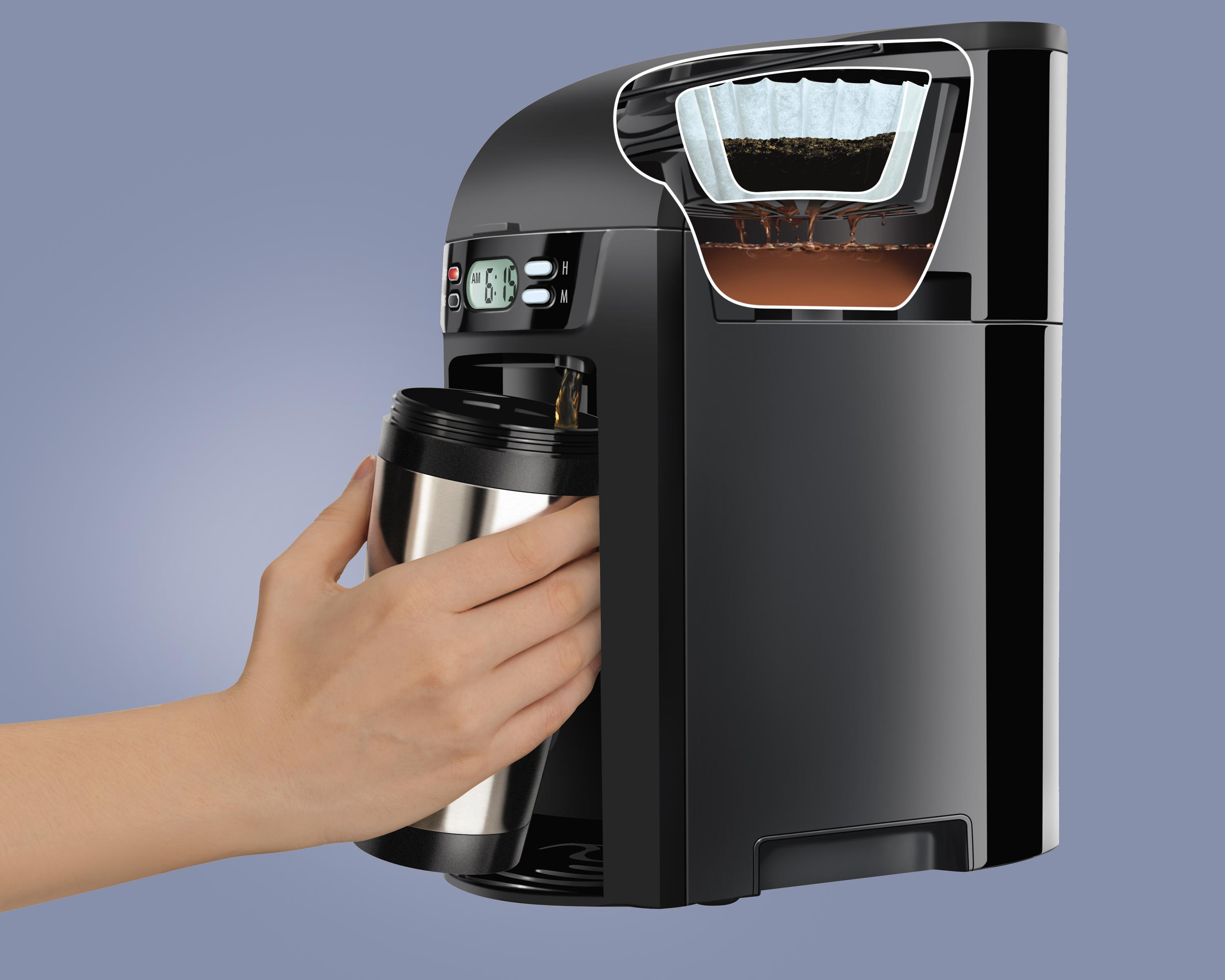 6 Cup Coffee Maker Programmable : Amazon.com: Hamilton Beach 6-Cup Coffee Maker, Programmable Brewstation Dispensing Coffee ...