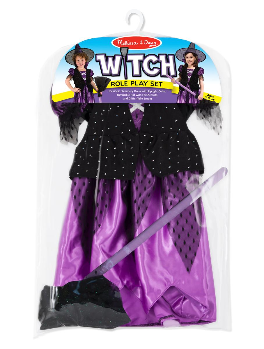View larger  sc 1 st  Amazon.com & Amazon.com: Melissa u0026 Doug Witch Role Play Costume Set: Melissa ...
