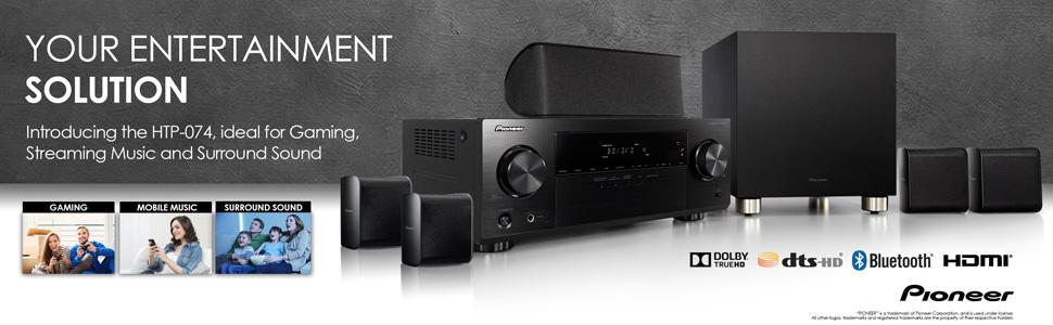 HTP-074 5.1-Channel Home Theater Package
