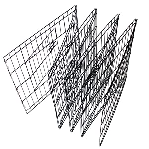 Dog Playpen Puppy Exercise Fence Cage Tall Panel Kennel