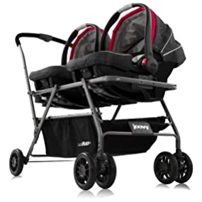 joovy twin roo car seat stroller baby. Black Bedroom Furniture Sets. Home Design Ideas