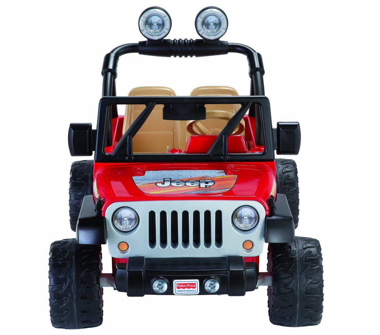 Amazon Com Power Wheels Jeep Wrangler Red Toys Amp Games