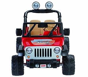 Amazon Com Power Wheels Jeep Wrangler Red Toys Games