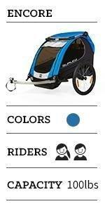 encore, burley, trailer, stroller, jogger, thule, family