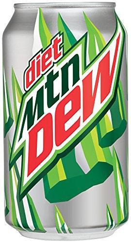 amazoncom diet mountain dew cans 12 count 12 fl oz
