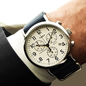 Amazon Com Timex Men S Tw2p71300 Weekender Chrono