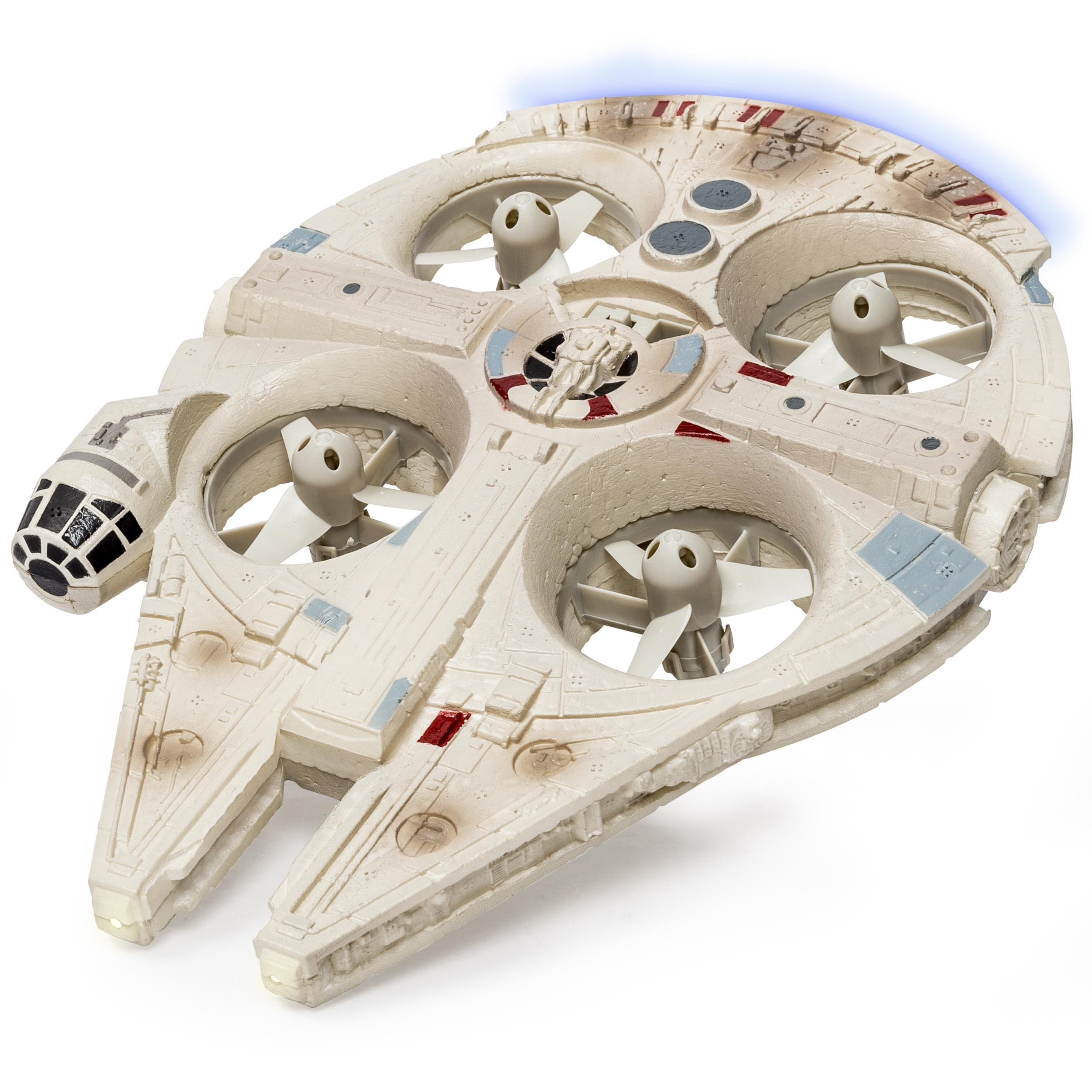 Remote Control Bb8 >> Amazon.com: Air Hogs Star Wars Remote Control Millennium Falcon Quad: Spin Master: Toys & Games