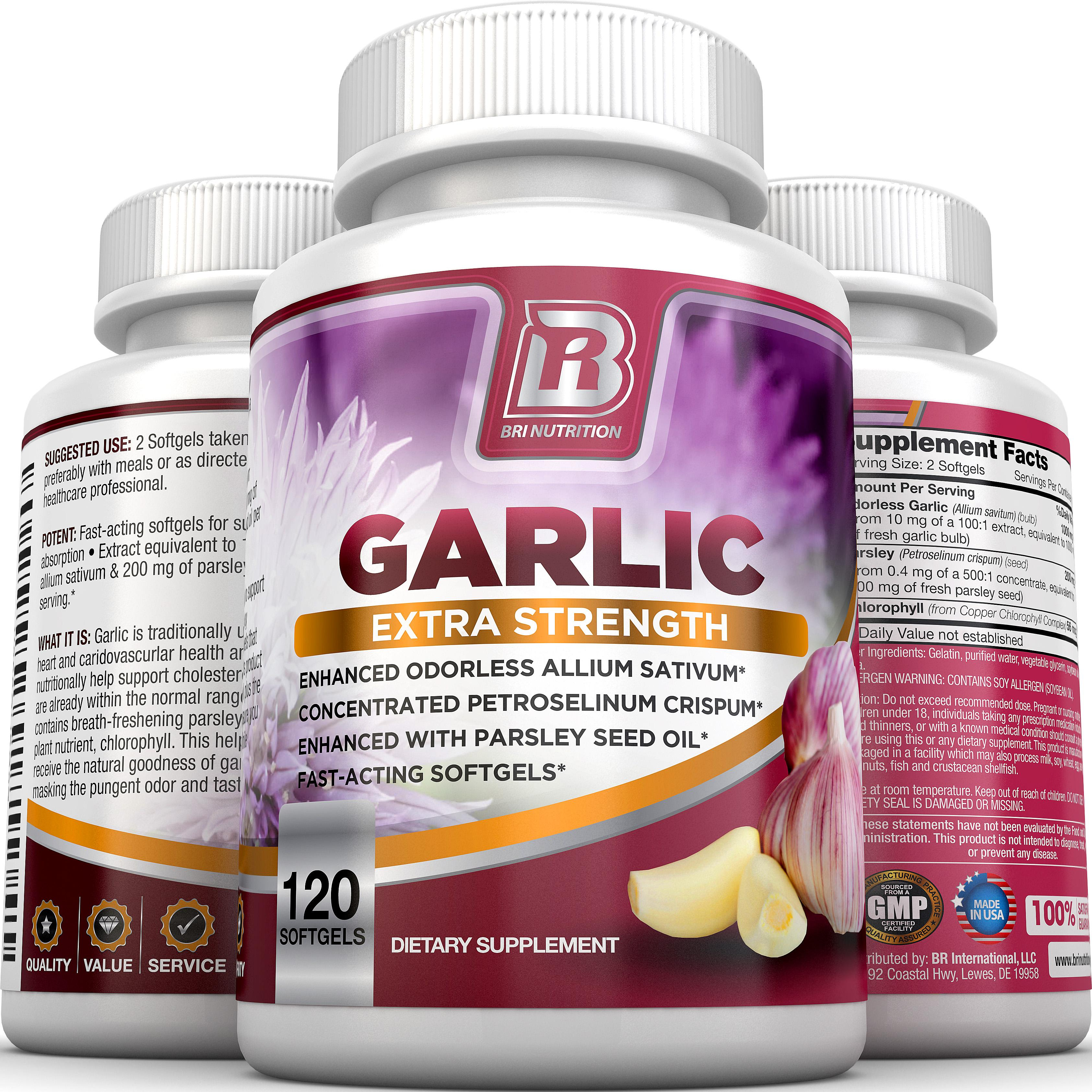 What is garlic vitamins good for