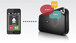 Philips BT3500 Wireless portable Bluetooth Speaker - Built-in microphone