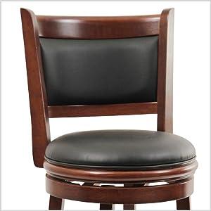 Boraam 49829 Augusta 29 Inch Swivel Barstool With Cushion