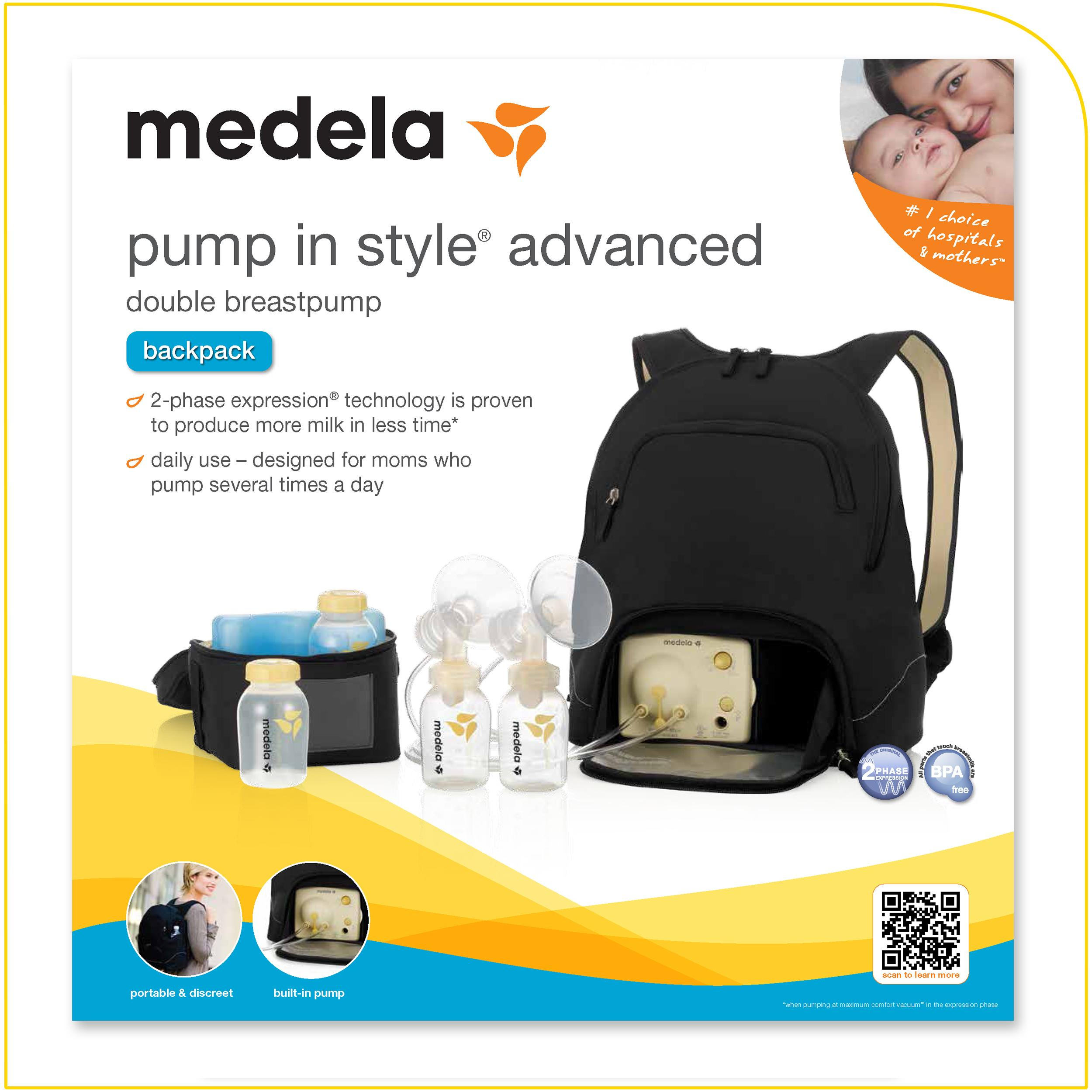 Amazoncom  Medela Pump In Style Advanced Breast Pump -7577