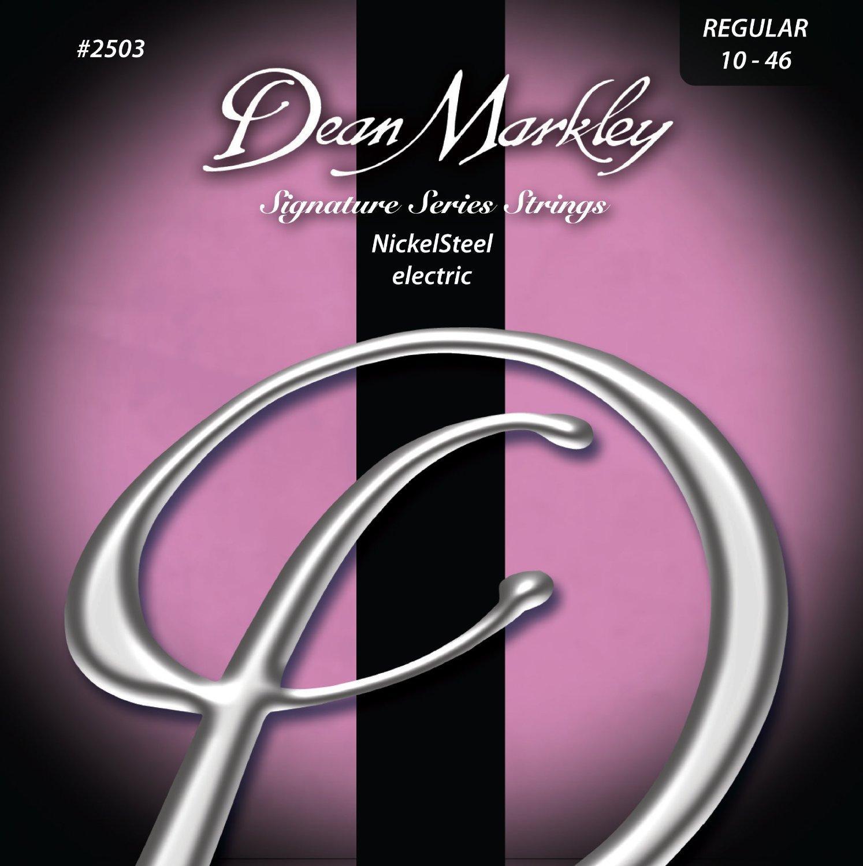 Amazon Com Dean Markley Nickelsteel Electric Guitar